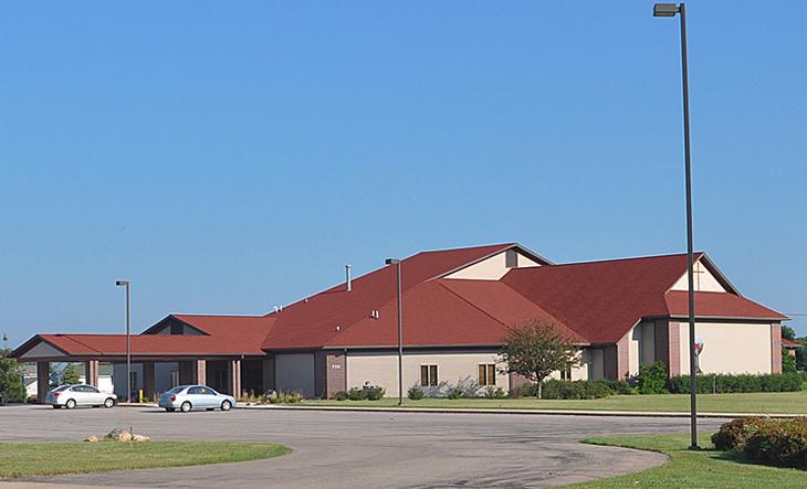 Noelridge Christian Church as seen from C Avenue NE. Sunday, July 14, 2013.